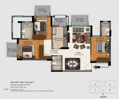 Dlf New Town Heights Sector 90 Floor Plan Regal Gardens By Dlf Limited In Sector 90 Dlf Gardencity Gurgaon