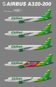 airasia vs citilink citilink indonesia airbus a320 200 juergen s paint hangar