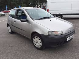 2001 fiat punto 1 2 mia 3 door hatchback petrol manual good drive