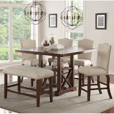 Counter Height Extendable Dining Table The Best Modern Dining Set Darbylanefurniture Com