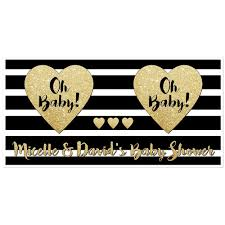 oh baby custom baby shower banner personalized baby shower