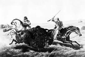 métis the buffalo hunt