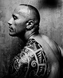 dwayne johnson tribal tattoo design tattoomagz