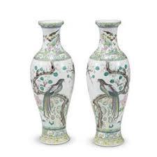 Porcelain Flower Vases Sale 1569 Asian Arts Freeman U0027s