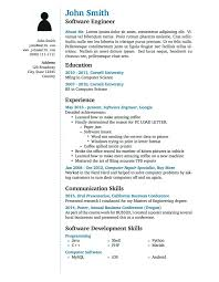 Usa Resume Template Resume American Resume Template Download Latex Templates A