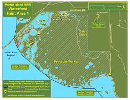 Port Canaveral Florida Map by Waterfowl Hunting Merritt Island U S Fish And Wildlife Service