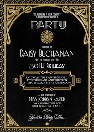 great gatsby party invitations marialonghi com