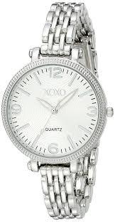 bracelet watches womens images Xoxo women 39 s xo5753 silver tone bracelet watch watches jpg