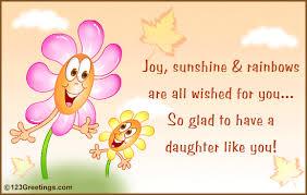 free daughter birthday cards best 25 birthday wishes daughter