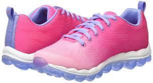 skechers skech air dashin u0027 dayz girls u0027 sneakers pink blue nppw