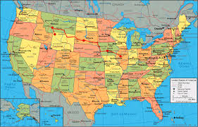 Map Of The United States And Mexico by Map Of National Parks In United States Us Truly There Is Only