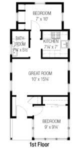 2 bedroom house floor plans cottages tumbleweed houses