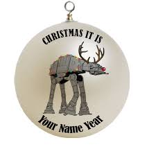 star wars snow walker christmas ornament custom gift 14