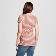 liz lange maternity maternity striped scoop neck t shirt liz lange for target target