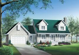 Cape House Plans Stone Brick Or Siding House Plan 80470pm Architectural