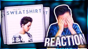 reacting to jacob sartorius new song sweatshirt ft leafyishere
