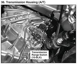 how to access transmission range switch unofficial honda fit forums