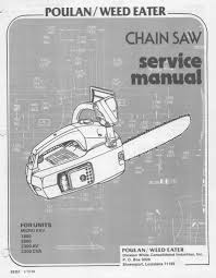 100 mcculloch chainsaw service manual vintage chainsaw