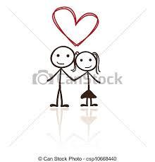 Meme Figures - make meme with stick figure couple clipart