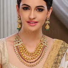 91 best manjula jewels images on jewellery designs