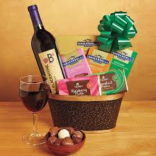 wine and chocolate gift basket wine gift baskets ruma s gourmet fruit and gift baskets