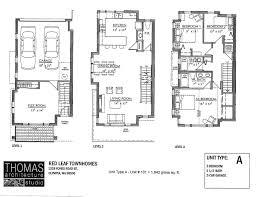 3 Bedroom 2 1 2 Bath Floor Plans Red Leaf Townhomes Floorplans