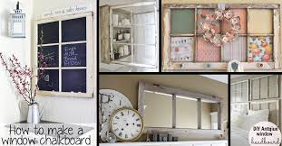 How To Make A Door Headboard by 30 Diy Craft Projects Using Old Vintage Windows U2013 Cute Diy Projects