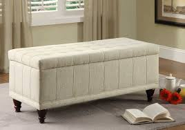Large Storage Ottoman Bench Large Leather Storage Ottoman Bench Home Inspirations Design
