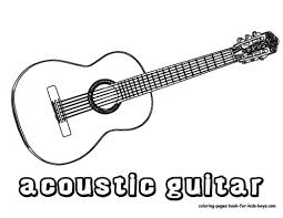 large guitar coloring page mexican guitar coloring page dinosaur printable pages with image