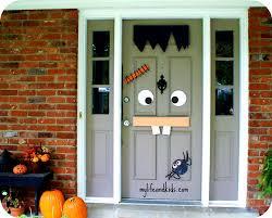 Door Decorations For Halloween Crafty Diy Halloween Decorations Real Moms Of Nj October 2012