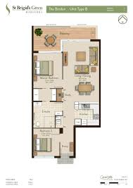 Floor Plans For Bedroom With Ensuite Bathroom St Brigid U0027s Green Apartment Floor Plans St Brigid U0027s Green