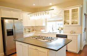 White Kitchen Dark Island Elegant Kitchens With White Cabinets All Home Decorations
