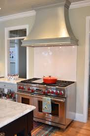 herringbone cooktop backsplash french kitchen benjamin moore