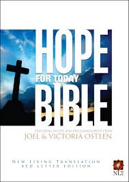 hope for today bible book by joel osteen official publisher