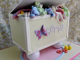toy box baby shower cake cakecentral com