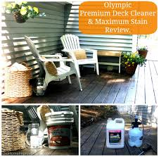 olympic maximum stain deck before u0026 after dio home improvements
