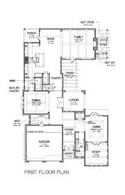 baby nursery house plans with butlers pantry craftsman style