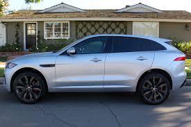 jaguar f pace blacked out 2017 jaguar f pace first edition review autoweb