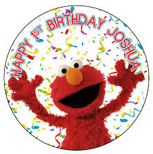 elmo cake topper edible cake topper