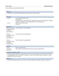 formatting resume in word word 2010 resume template free resume template microsoft word 7