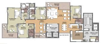 presentation drawing unit plan bhk small house plans 75611