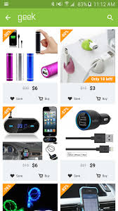geek smarter shopping app ranking and store data app annie