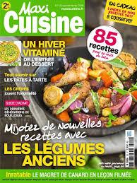 abonnement magazine maxi cuisine maxi cuisine