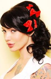 pin up hairdos long black hair 176 best pin up style images on pinterest female poses photo