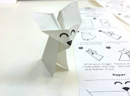 Origami Pets - ben firshman and devin hunt made paper pets a charming