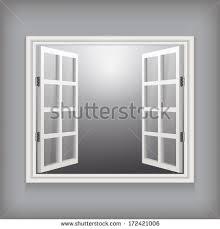 open window vector template design stock vector 172421006