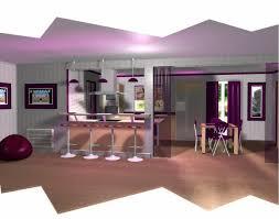 entree cuisine notre cuisine vu du salon et porte d entrée stéphanie