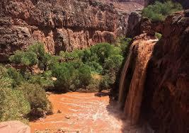 Arizona Waterfalls images Arizona canyon famed for waterfalls reopens after flooding jpg