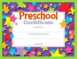 preschool diploma preschool diploma school certificate preschool diploma certificate
