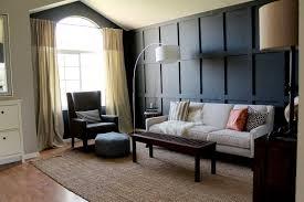 interior extra long white fabric drapery mixed with black
